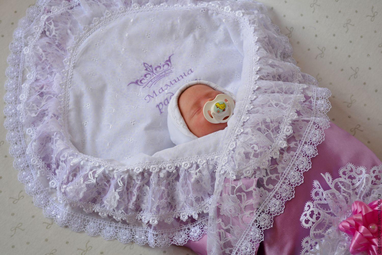 Как сшить уголочек для новорожденного
