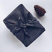 Упаковка ручной работы. Ярмарка Мастеров - ручная работа Экологичная упаковка для подарков (фурошики) М. Handmade.
