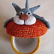 Для дома и интерьера handmade. Livemaster - original item Box crocheted Cat. Handmade.