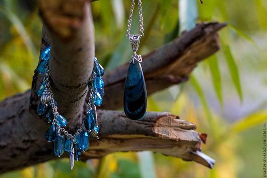 Комплект украшений `Морской бриз`, мастерская AlekSa