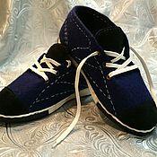 """Обувь ручной работы. Ярмарка Мастеров - ручная работа Мужские кеды """"Чемпион"""". Handmade."""