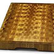 Для дома и интерьера handmade. Livemaster - original item End cutting Board №76. Handmade.