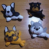 Куклы и игрушки handmade. Livemaster - original item Toys made of felt