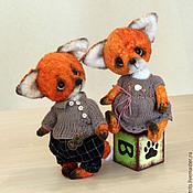 Куклы и игрушки ручной работы. Ярмарка Мастеров - ручная работа Сёма и Алиса. Handmade.
