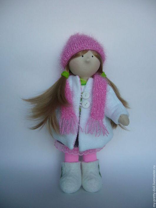 Коллекционные куклы ручной работы. Ярмарка Мастеров - ручная работа. Купить Кукла Снежка  девочка Зима. Handmade. Снежка
