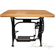 Для дома и интерьера ручной работы. Ярмарка Мастеров - ручная работа Письменный стол на станине от швейной машинки. Handmade.