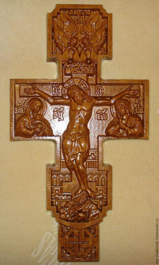 Иконы ручной работы. Ярмарка Мастеров - ручная работа. Купить Крест. Handmade. Коричневый, религия, бук