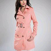 Одежда handmade. Livemaster - original item Trench coat pink. Handmade.