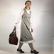 Одежда ручной работы. Ярмарка Мастеров - ручная работа Платье сарафан  Агнесса. Handmade.