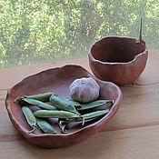 Посуда ручной работы. Ярмарка Мастеров - ручная работа Экологическая посуда(большая). Handmade.