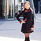 """Верхняя одежда ручной работы. Ярмарка Мастеров - ручная работа. Купить Пальто""""Rosa Magdalena""""в стиле DG. Handmade. Цветочный"""