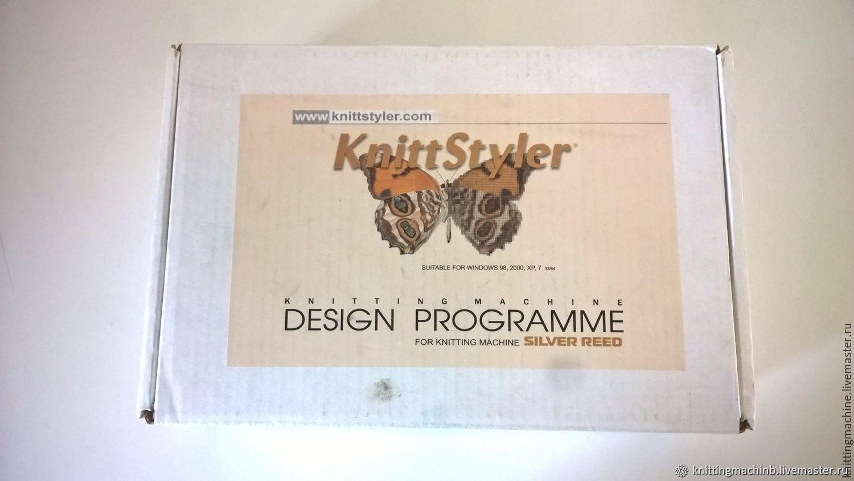 Вязальная машина. Программное Обеспечение KnittStyler, Инструменты для вязания, Москва,  Фото №1