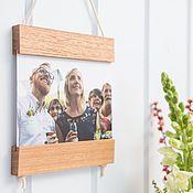 Сувениры и подарки handmade. Livemaster - original item Wooden holder (frame) for posters, postcards and photos. Handmade.