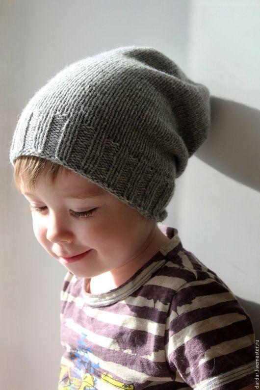 """Шапки и шарфы ручной работы. Ярмарка Мастеров - ручная работа. Купить Шапка-чулок для мальчика """"Гекльберри Финн"""" шерсть. Handmade."""