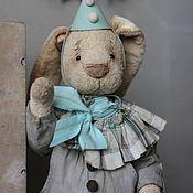 Тедди Зверята ручной работы. Ярмарка Мастеров - ручная работа Кролик Антонио. Handmade.