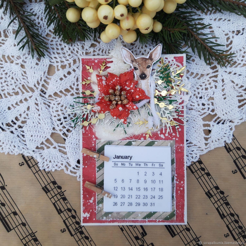Магниты Новый год календарь, Магниты, Краснодар,  Фото №1