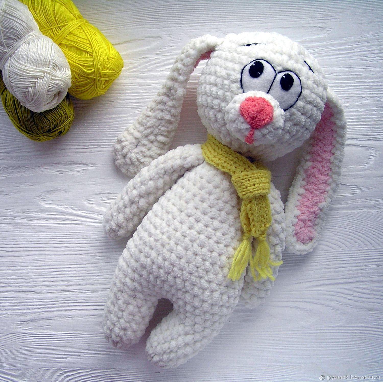 Вязание зефирных игрушек