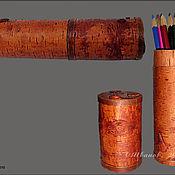 Канцелярские товары ручной работы. Ярмарка Мастеров - ручная работа Пенал. Handmade.