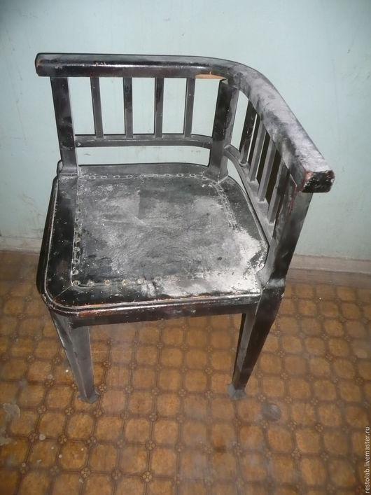 Реставрация. Ярмарка Мастеров - ручная работа. Купить Реставрация старинного углового стула.. Handmade. Реставрация мебели, реставрация стула, лак