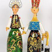 Куклы и игрушки handmade. Livemaster - original item Phoenix 2, painted dolls, russian souvenir. Handmade.