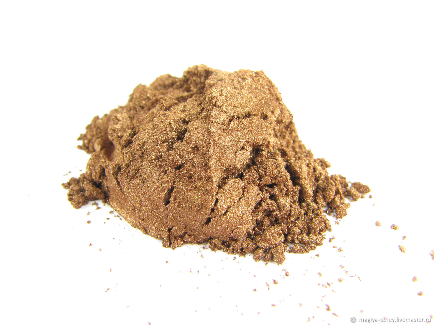 Mineral brown eye shadow 'Chocolate' makeup, Shadows, Moscow,  Фото №1
