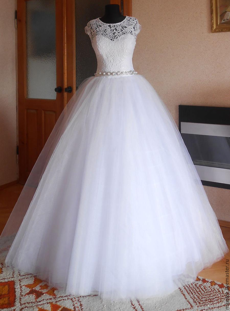 Clothing Accessories Handmade Livemaster Elegant Wedding Dress Lace