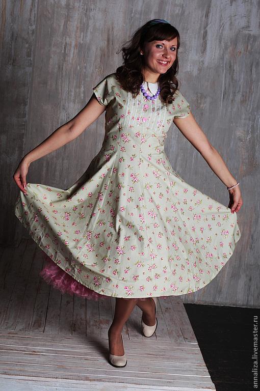 Женские платья времен стиляг