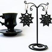 Украшения ручной работы. Ярмарка Мастеров - ручная работа Black coffee.. Handmade.