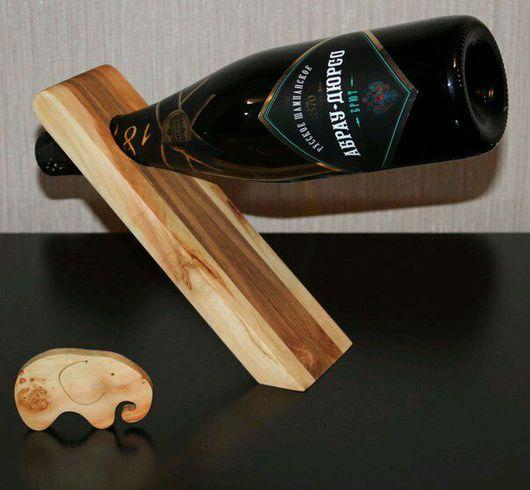 Мебель ручной работы. Ярмарка Мастеров - ручная работа. Купить Подставки под бутылку. Handmade. Оригинальный подарок, оригинальные подарки