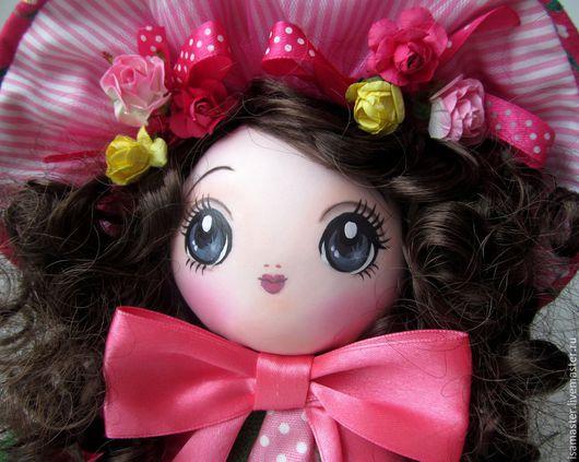 Коллекционные куклы ручной работы. Ярмарка Мастеров - ручная работа. Купить Вероника, цветущий сад. Handmade. Разноцветный, кукла интерьерная