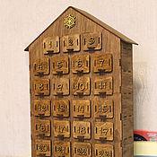 Канцелярские товары handmade. Livemaster - original item The advent calendar. Handmade.