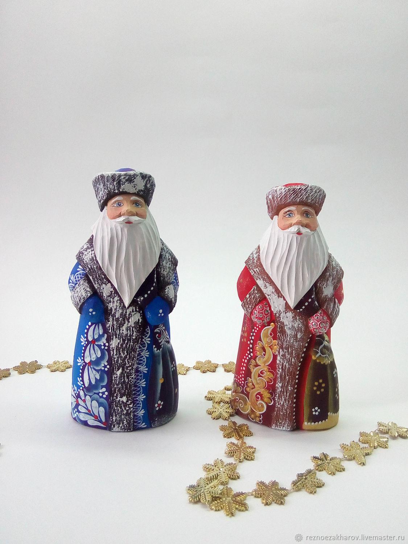 Дед Мороз (малый), Дед Мороз и Снегурочка, Рошаль,  Фото №1