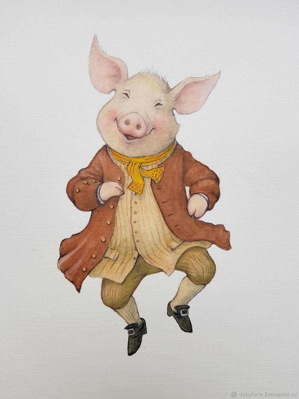 тот картинки для декупажа свиньи новогодние заметила