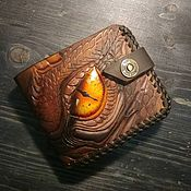 Сумки и аксессуары handmade. Livemaster - original item Wallet genuine leather