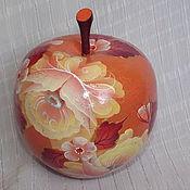 Для дома и интерьера handmade. Livemaster - original item Box in the shape of an Apple
