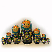 Русский стиль handmade. Livemaster - original item Nesting doll large 7 seater