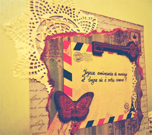 Открытки к юбилею ручной работы. Ярмарка Мастеров - ручная работа. Купить открытка ручной работы С Годовщиной Свадьбы. Handmade.