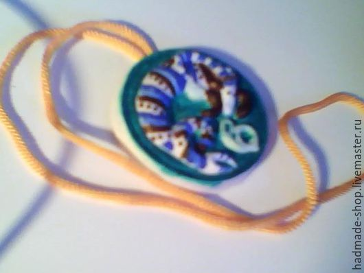 """Брелоки ручной работы. Ярмарка Мастеров - ручная работа. Купить Медальон """"Знак зодиака"""". Handmade. Тёмно-синий, медальон, вода"""