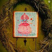 """Для дома и интерьера ручной работы. Ярмарка Мастеров - ручная работа Ключница """"Ключ от сердца принцессы... висит на ключнице. Handmade."""