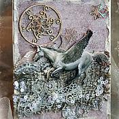 """Открытки ручной работы. Ярмарка Мастеров - ручная работа Коллекция """"Волшебные Сказки Зимы"""" Пегас. Handmade."""