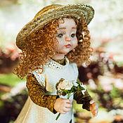 Куклы и пупсы ручной работы. Ярмарка Мастеров - ручная работа Матильда с букетиком роз. Handmade.