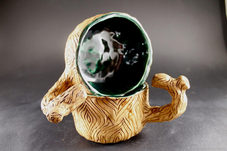 Pottery. Ceramic mug handmade, Mugs, Saratov,  Фото №1