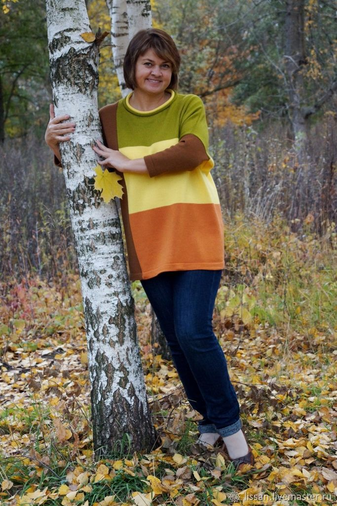 Tunic 'Autumn dream', Tunics, Michurinsk,  Фото №1