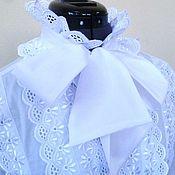 Одежда handmade. Livemaster - original item Women`s blouse / cotton white. Handmade.