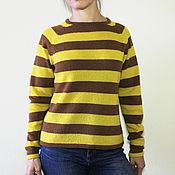 """Одежда handmade. Livemaster - original item Knitted sweater """"Bee"""". Handmade."""