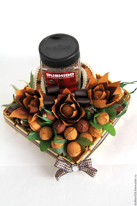 Подарки из конфет своими руками для мужчин