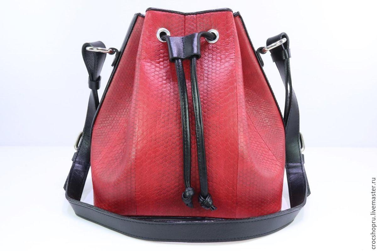 Сафари сумки из кожи ската