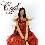 Куклы и игрушки ручной работы. Ярмарка Мастеров - ручная работа Кофейная фея Лейла. Handmade.