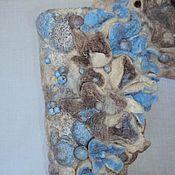 """Для дома и интерьера ручной работы. Ярмарка Мастеров - ручная работа Интерьерная композиция """"Цветы на камнях"""". Handmade."""