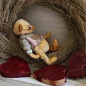 Куклы и игрушки ручной работы. Ярмарка Мастеров - ручная работа Мишка Тедди Степка. Handmade.